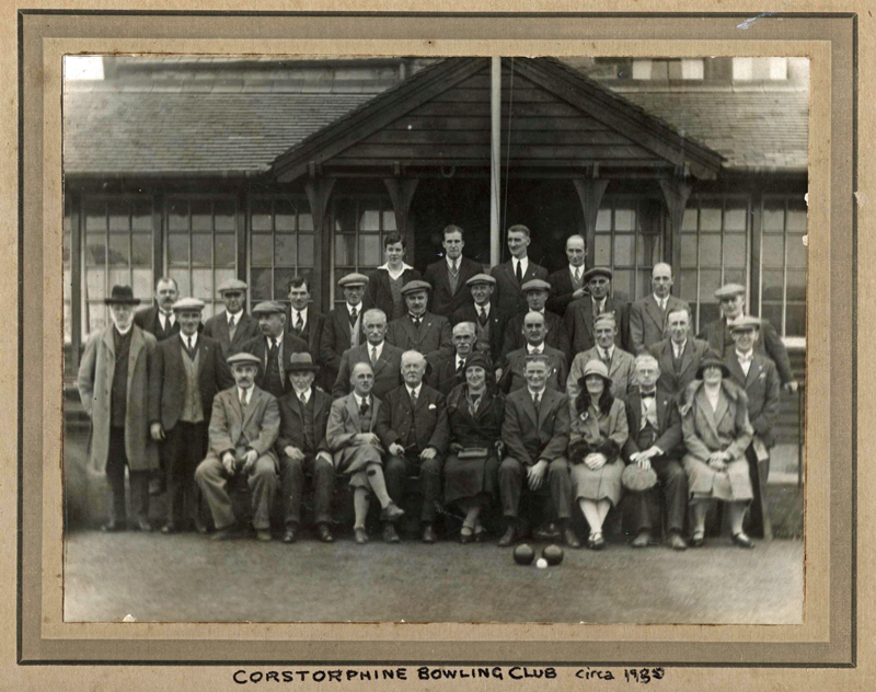Gathering at CBC circa 1935
